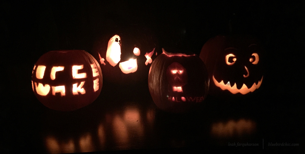 bluebirdchic halloween pumpkins
