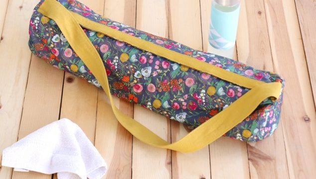 free make it yourself yoga mat bag pattern