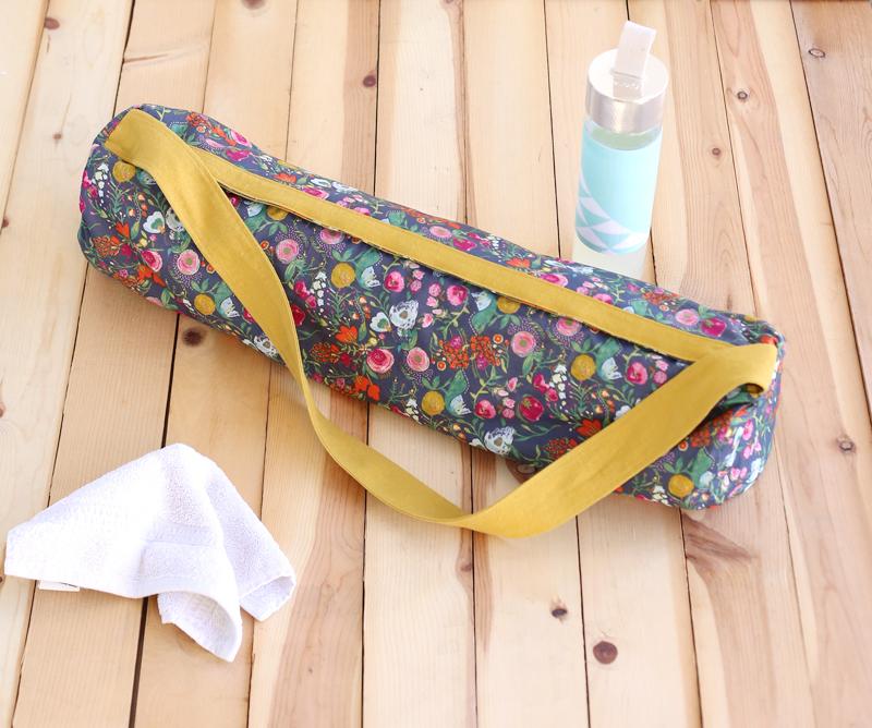 yoga mat bag pattern leah farquharson