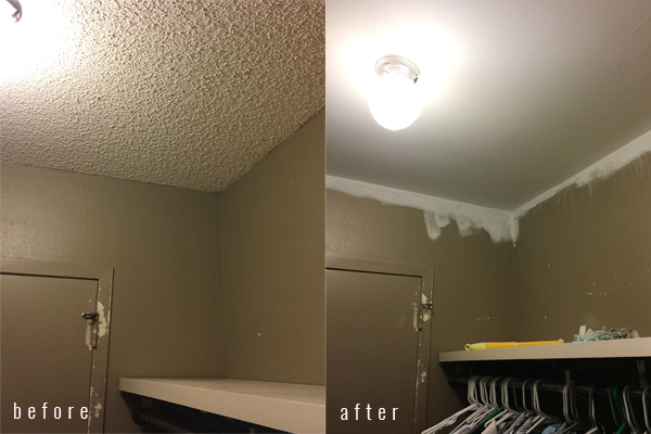 Before And After Popcorn Ceiling Image Of Ruostejarvi Org