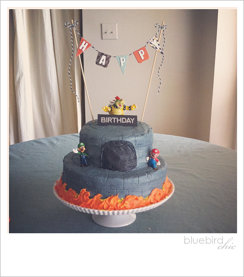 Bowsers Castle Happy Birthday Tips To Create A Castle Cake