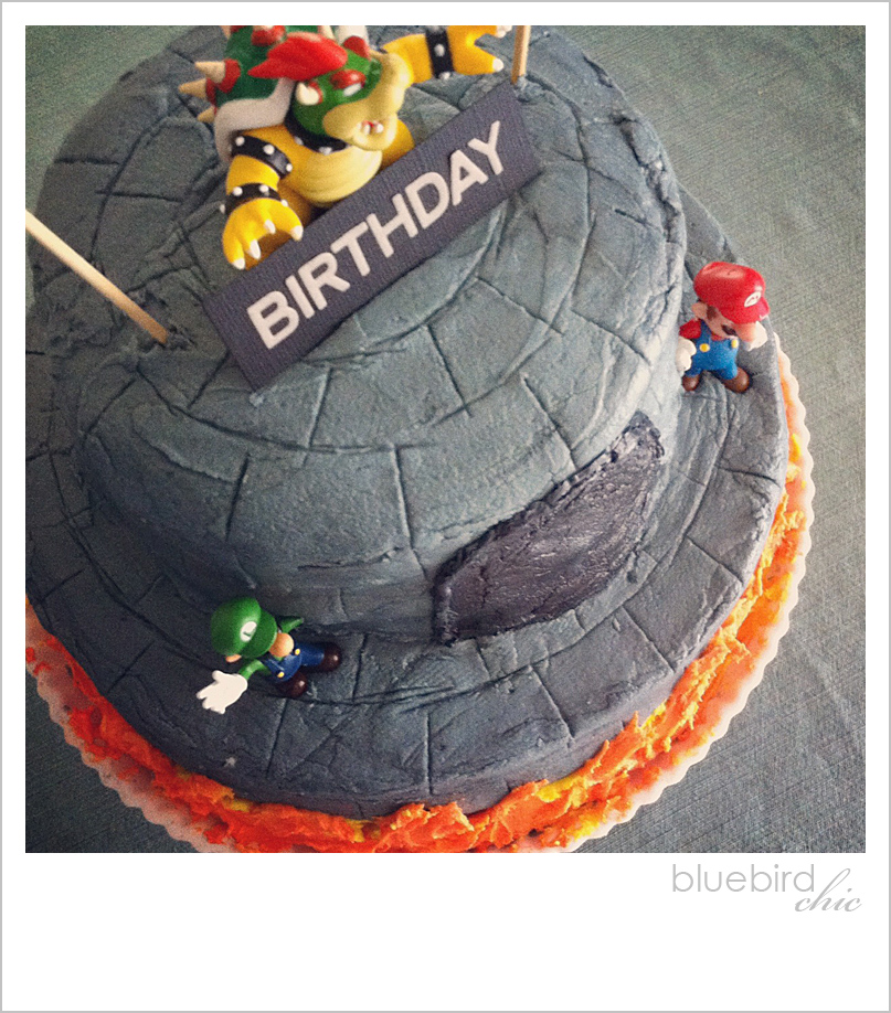 Bowsers Castle Happy Birthday  Tips To Create A Castle Cake - Bowser birthday cake