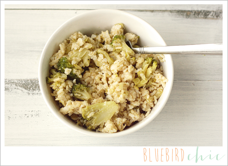 Healthy Crockpot Broccoli Casserole