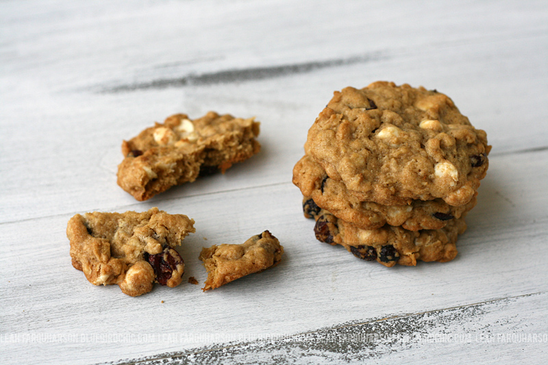 bluebirdchic_oatmeal_cranberry_cookies