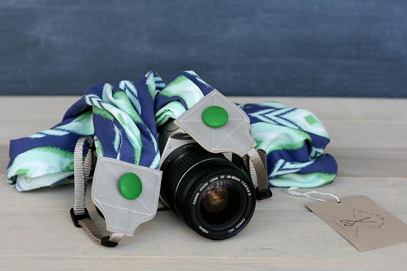 bluebirdchic scarf camerastrap peacock ikat - bluebirdchic.com