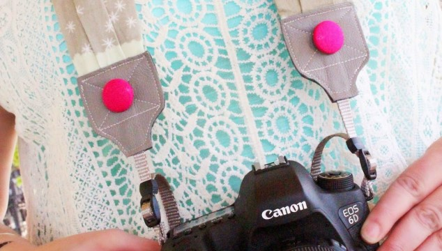 neon waterfall camera strap review by gina lideros