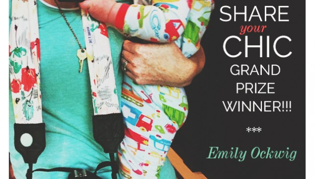 "Announcing the ""Share Your Chic"" Grand Prize Winner!!!"