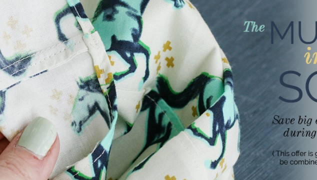 July Featured Item | The Mustang Infinity Scarf