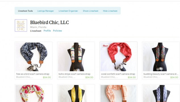 Bluebird Chic is now available on Etsy Wholesale