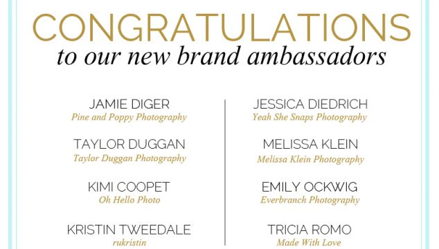 Meet the New Bluebird Chic Brand Ambassadors!