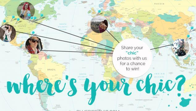 "Join Us for the ""Where's Your Chic"" Challenge Contest"