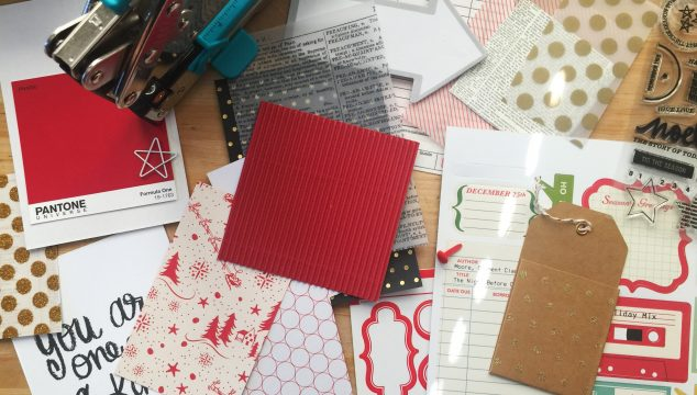 Handmade Holiday | DIY Mini Gift Scrapbooks