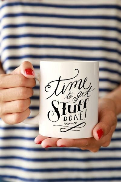 Get Stuff Done Mug | Click and Blossom