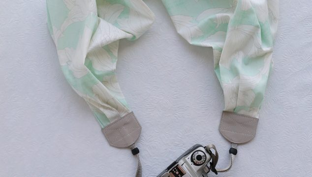this week's featured strap – mint floral