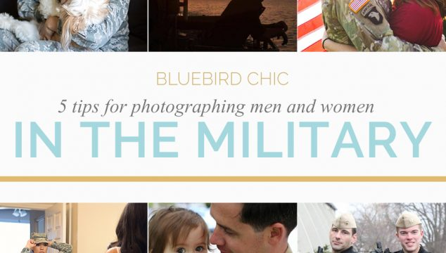 Photographing Men and Women in The Military