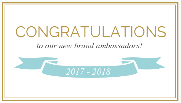 Meet Our New Ambassadors!