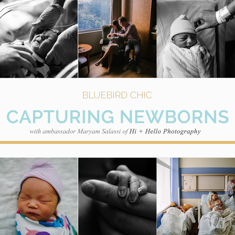 Capturing the New: Photographing Newborns | Bluebird Chic