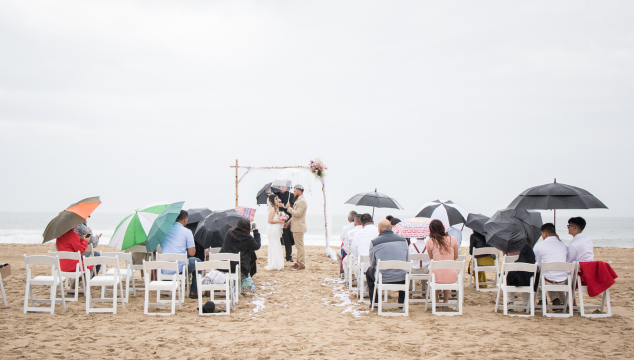 Tips for Shooting Weddings in the Rain