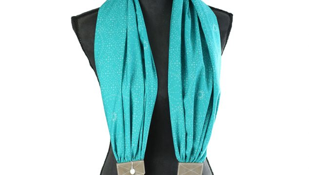 this week's featured strap – in stitches teal