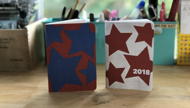 DIY Patriotic Memory Journal