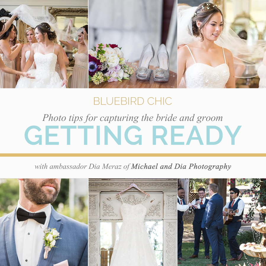 Photo Tips for Capturing The Bride and Groom Getting Ready | Bluebird Chic