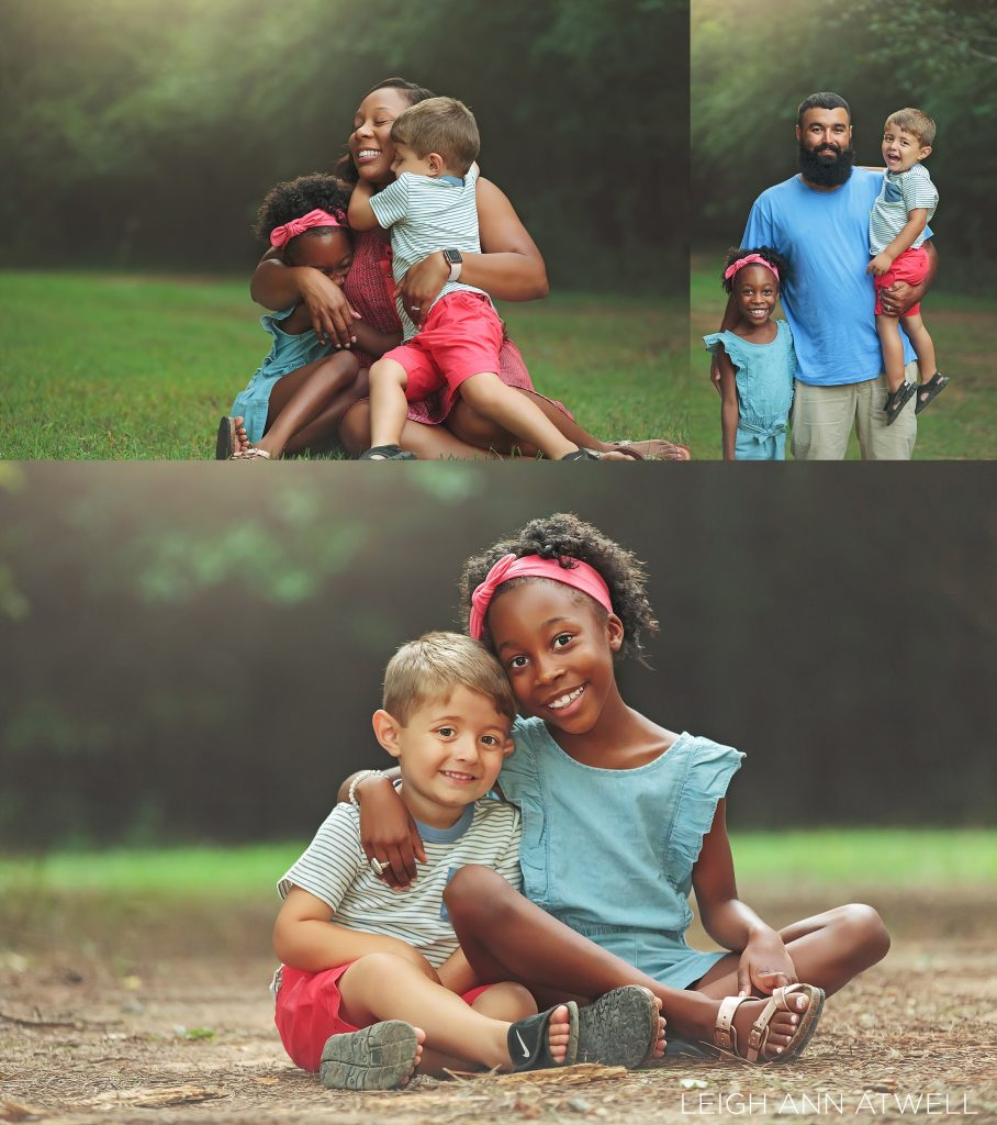 5 Tips for Photographing Blended Families | Leigh Ann Atwell | Bluebird Chic